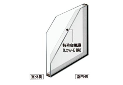 Low-Eガラス(遮熱、断熱)