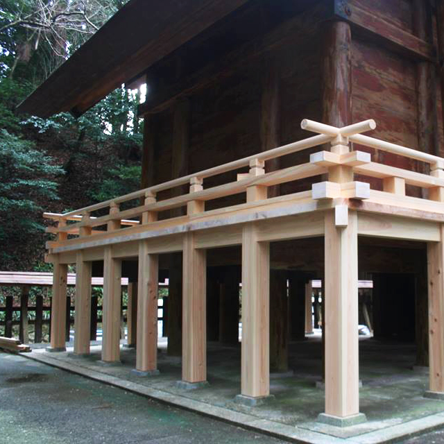 天岩戸神社東本宮本殿 修繕工事