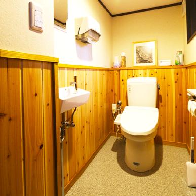 居酒屋てんつくてんトイレ 改装工事