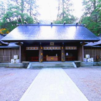 天岩戸神社西本宮本殿 新築工事