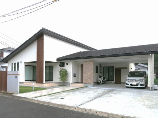W様邸 新築工事(平屋)